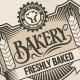 Bakery Labels & Badges Set 1 - GraphicRiver Item for Sale