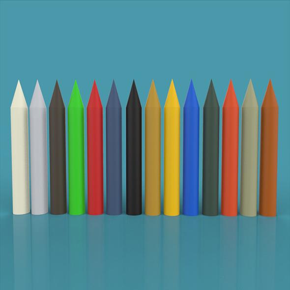 color pen - 3DOcean Item for Sale