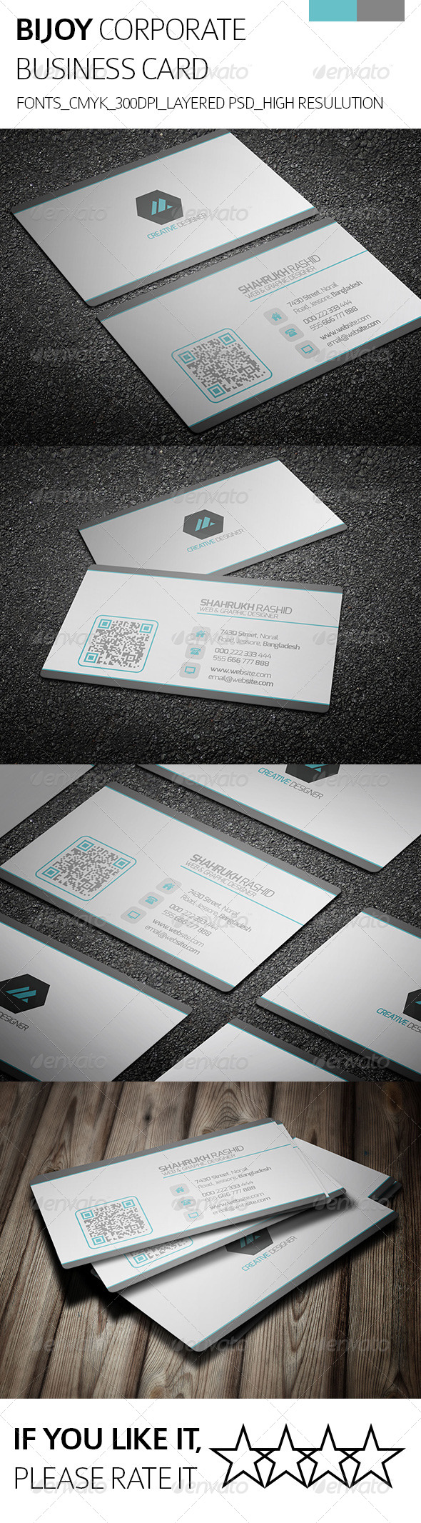 Bijoy & Corporate Business Card - Corporate Business Cards