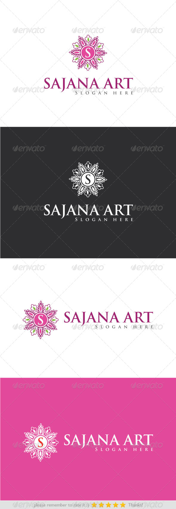 Sajana Art - Nature Logo Templates
