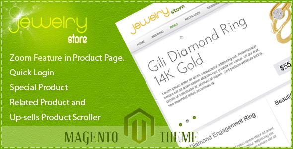 Jewelry Store Magento Theme - Magento eCommerce