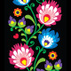 Seamless Long Polish Folk Art Pattern  - GraphicRiver Item for Sale