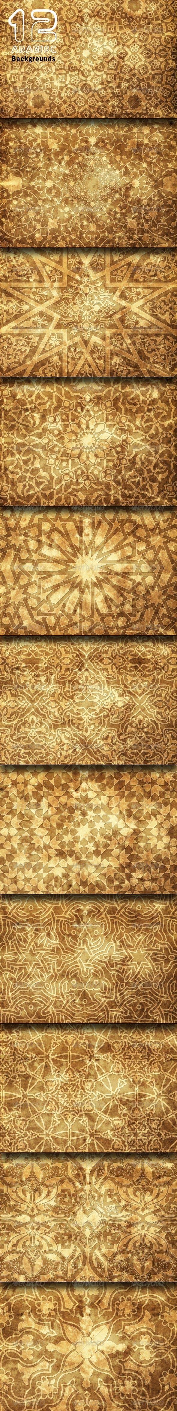 Arabisc Backgrounds - Backgrounds Graphics