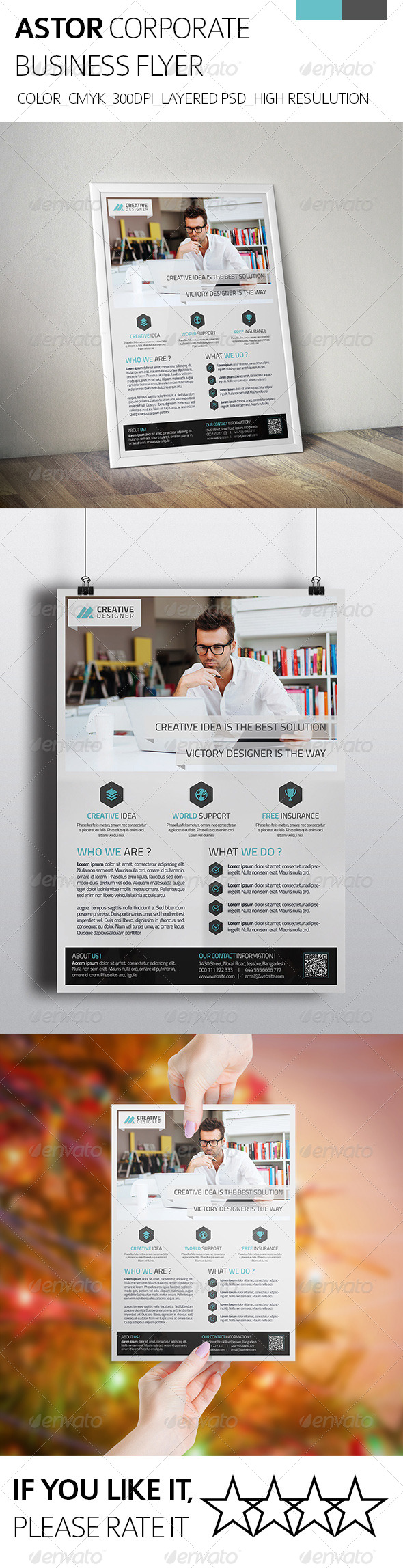Astor Corporate Business Flyer - Corporate Flyers