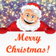Happy Santa with Copyspace - GraphicRiver Item for Sale
