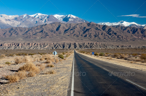 Landscape in northern Argentina - Stock Photo - Images