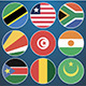 Flat Flag Icons African Countries - GraphicRiver Item for Sale