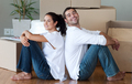 Delighted couple moving house - PhotoDune Item for Sale