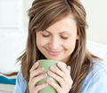 Relaxed woman enjoy her coffee - PhotoDune Item for Sale