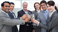 Cheerful international business people celebrating a sucess - PhotoDune Item for Sale