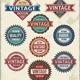 Retro Badges and Vintage Insignia Set - GraphicRiver Item for Sale