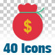 40 Animated Icons - VideoHive Item for Sale