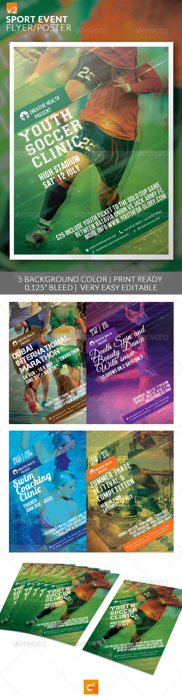 Sport Event Flyer/Poster v2 - Sports Events