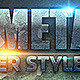 Metal Layer Styles - GraphicRiver Item for Sale