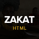 Zakat - One Page Charity HTML Template Nulled