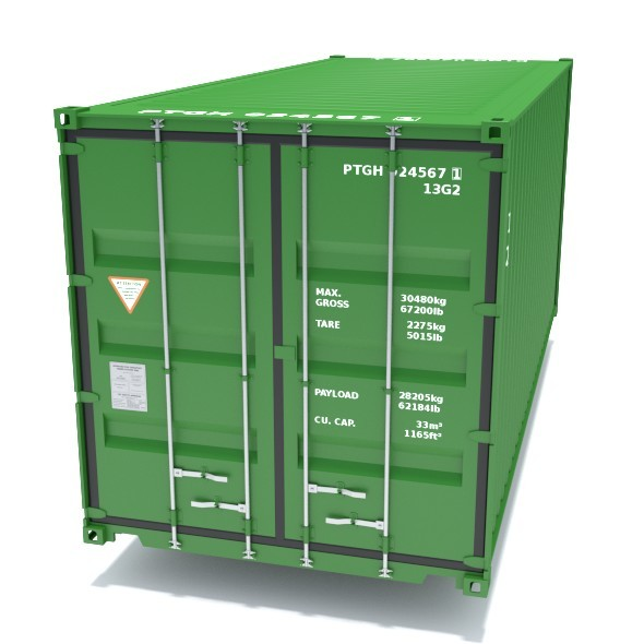 ISO Container - 3DOcean Item for Sale