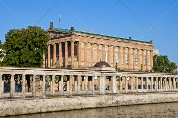 Old Nationalgallery with Colonnades - Stock Photo - Images