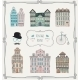 Vintage Old Styled Houses - GraphicRiver Item for Sale