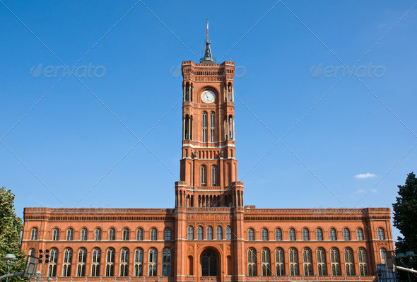 The Townhall in Berlin - Stock Photo - Images