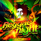 Reggae Night Flyer Template - GraphicRiver Item for Sale