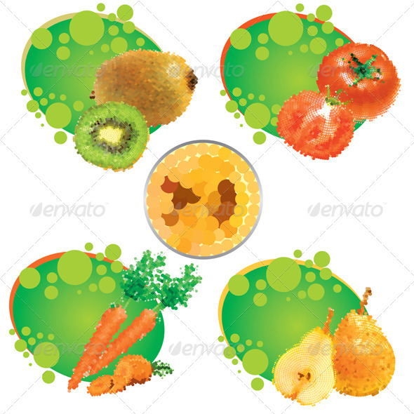 Summer Juices - Food Objects