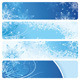 Blue Banners - GraphicRiver Item for Sale