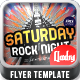 Saturday Rock Night - GraphicRiver Item for Sale