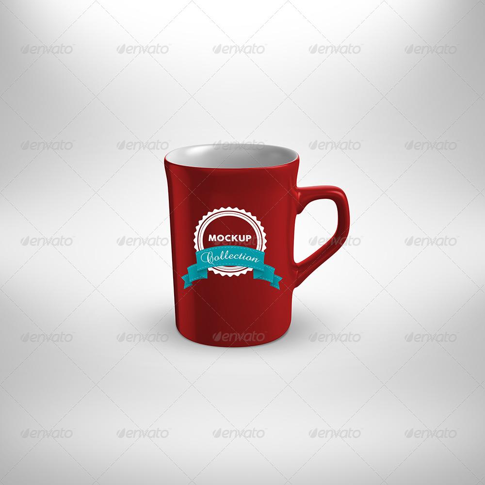 5 Cup MockUp mix