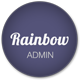 Rainbow - Responsive Admin App with AngularJS - ThemeForest Item for Sale