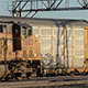 Freight Train Leaving Busy Rail Yard - VideoHive Item for Sale