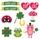 Good Luck Elements Set - GraphicRiver Item for Sale