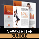 Newsletter Photoshop Templates - GraphicRiver Item for Sale
