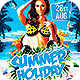 Summer Holiday Flyer - GraphicRiver Item for Sale