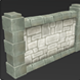 Low Poly Dungeon Wall - 3DOcean Item for Sale