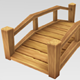 Low Poly Tileable Bridges - 3DOcean Item for Sale