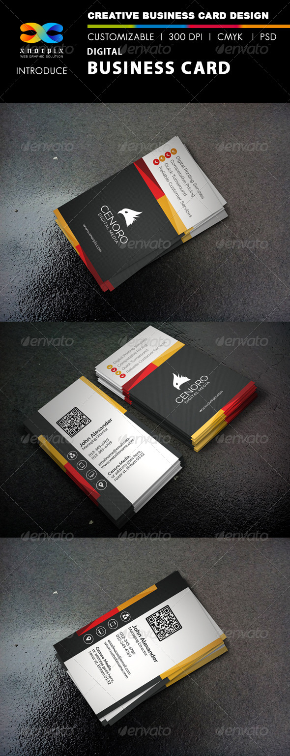 Digital Business Card - Corporate Business Cards
