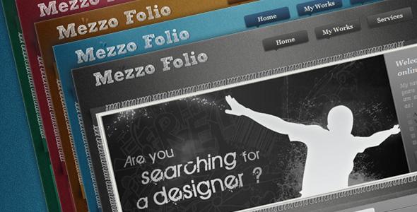 Free Download Mezzo Folio | Designer portfolio Nulled Latest Version