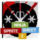 Stickman Ninja Sprite Sheet - Armed Fight - GraphicRiver Item for Sale