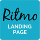 Ritmo - Mobile App Landing Page HTML5 Template - ThemeForest Item for Sale