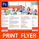 Minimal Corporate Business Flyer -02 - GraphicRiver Item for Sale