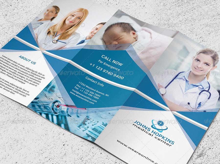 Medical Brochure Tri Fold Zrom