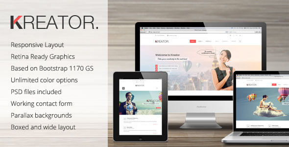 Kreator Ultimate HTML Template