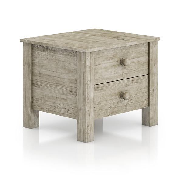 Wooden Bedside Cabinet - 3DOcean Item for Sale