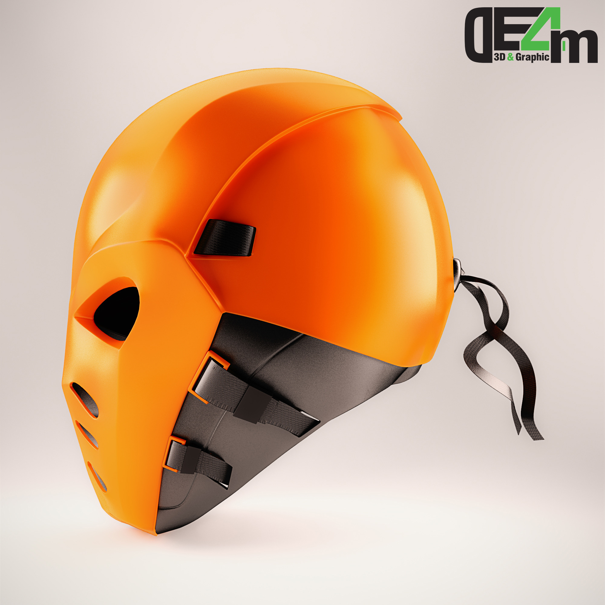 Deathstroke Helmet By De4m 3docean