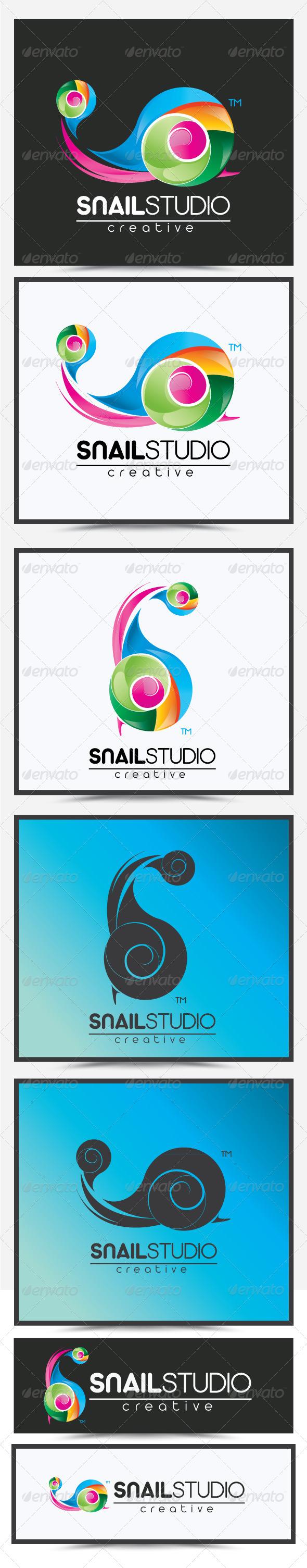 Snail Studio Logo - Letters Logo Templates