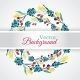 Floral Watercolor Wreath with Flowers - GraphicRiver Item for Sale
