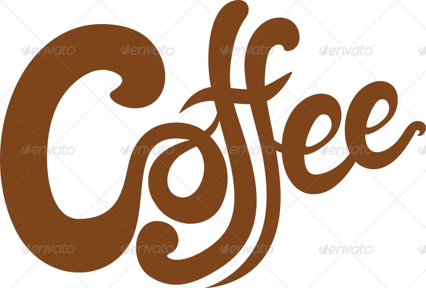 5 Handlettered Coffee Illustrations by ragerabbit2 ...