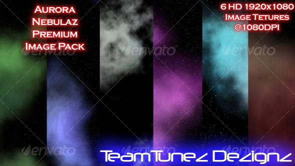 Aurora Nebulaz Premium Image Pack - Space / Celestial Textures