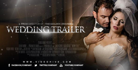Wedding Trailer 8278783 - Free download