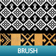6 Mosaic Pattern Brush - GraphicRiver Item for Sale